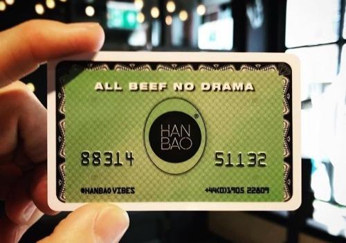 HANBAO Burger Club Card The @_hanbao_ loyalty...
