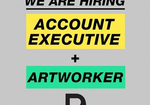 HIRING If your an Account Executive or Artworker...