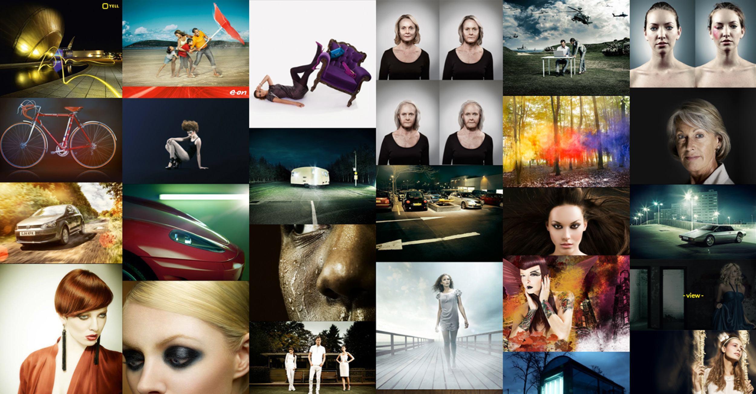 Matt Lee Photography - Website Grid