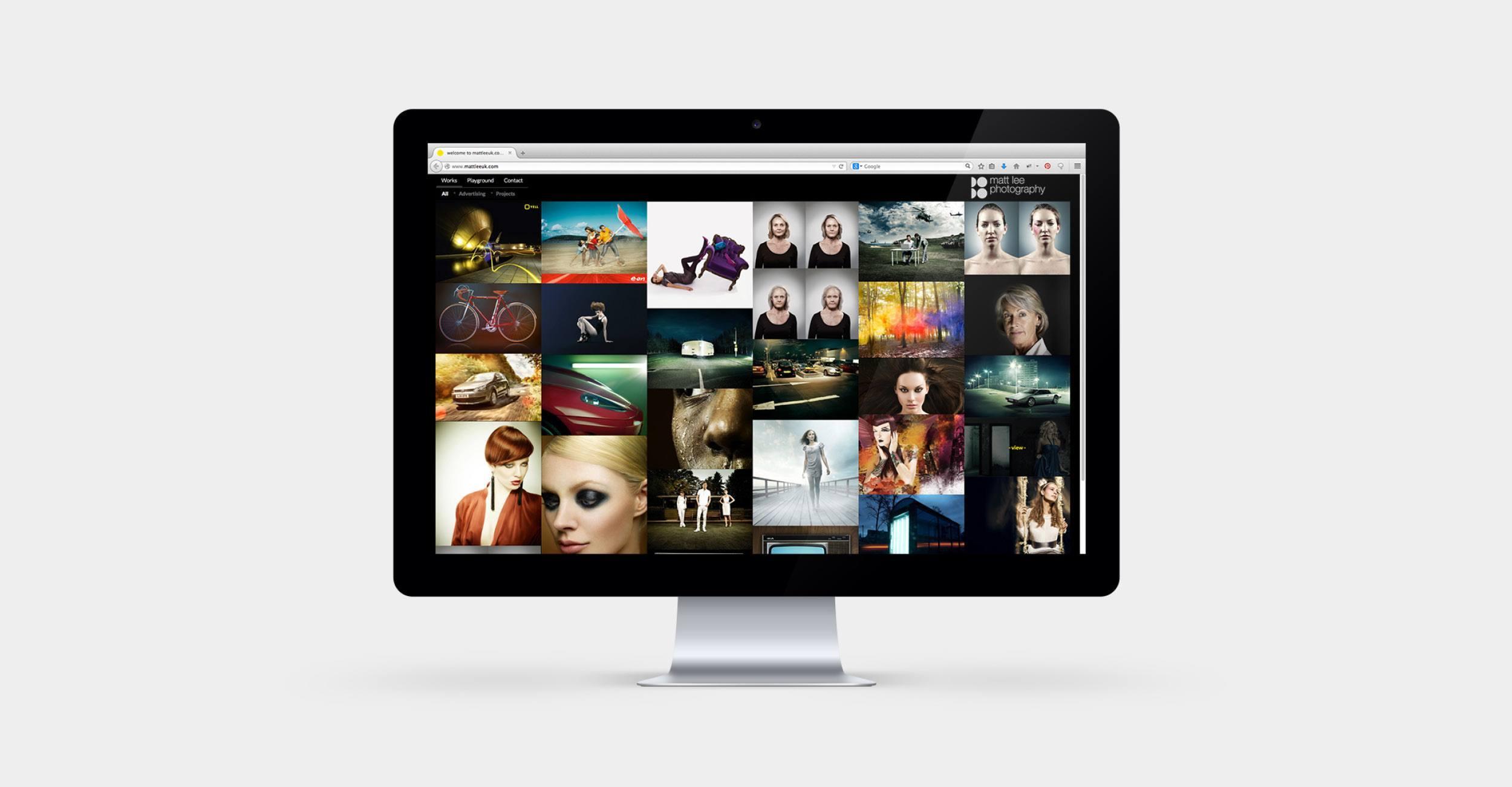 Matt Lee Photography - Responsive Wordpress Website Design & Development