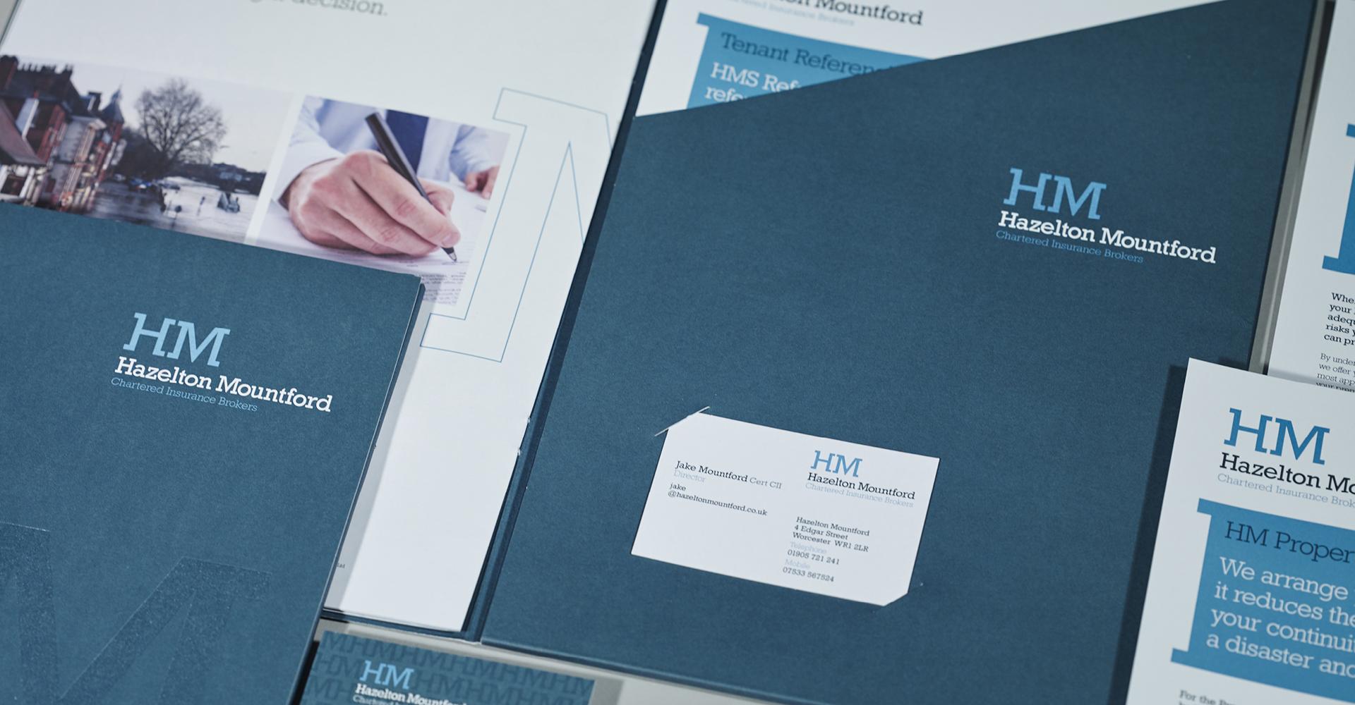 Hazelton Mountford - Stationary Design & Production