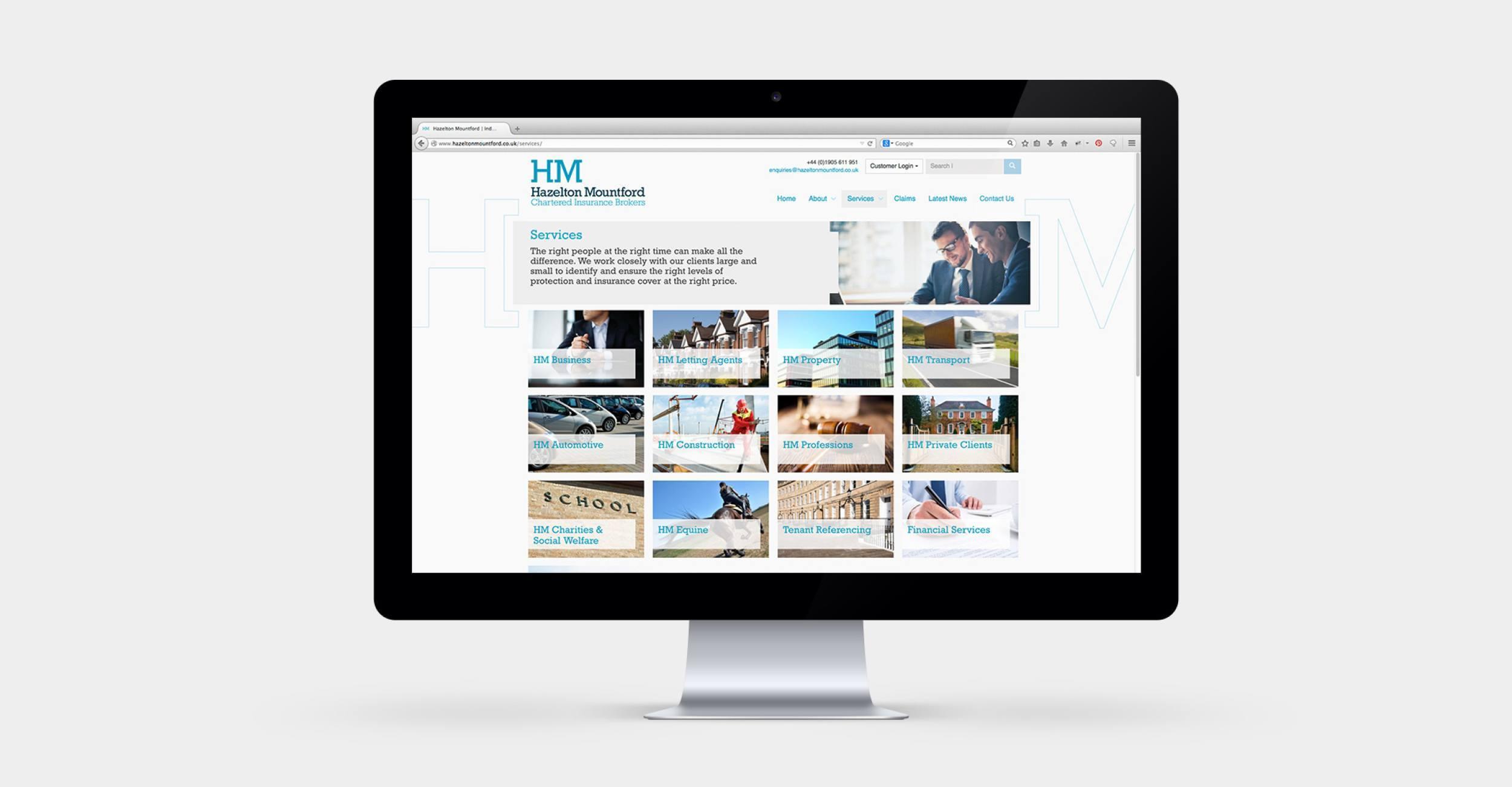 Hazelton Mountford - Responsive Wordpress Website Design & Development