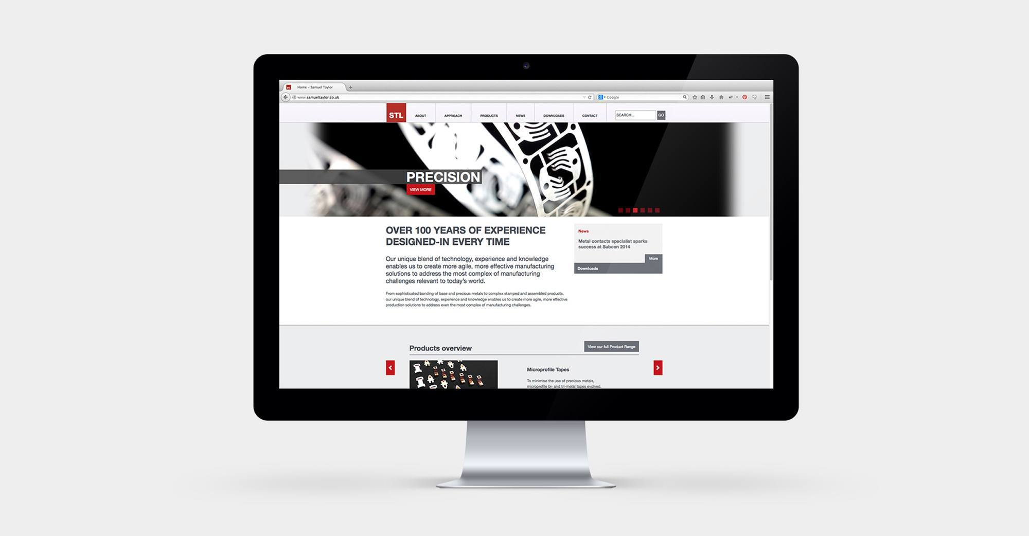 Samuel Taylor - Responsive Wordpress Website Design & Development
