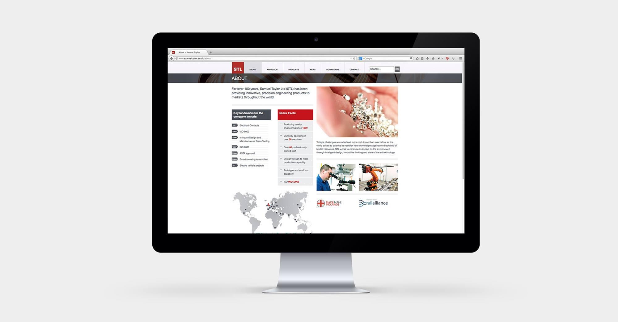Samuel Taylor - Responsive Wordpress Website Design & Development