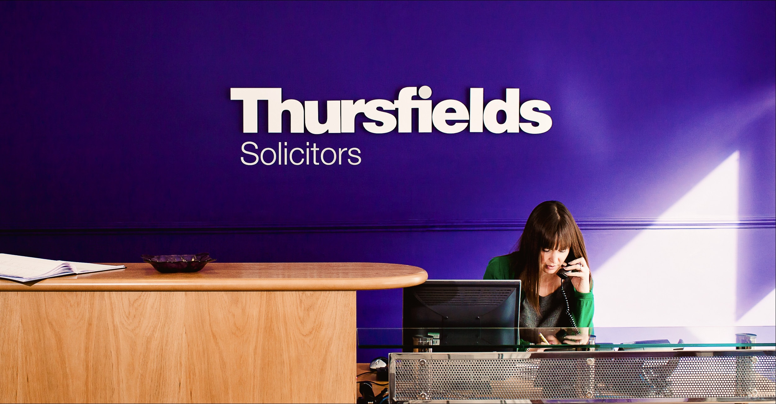 Thursfields Solicitors - Identity Update - Signage