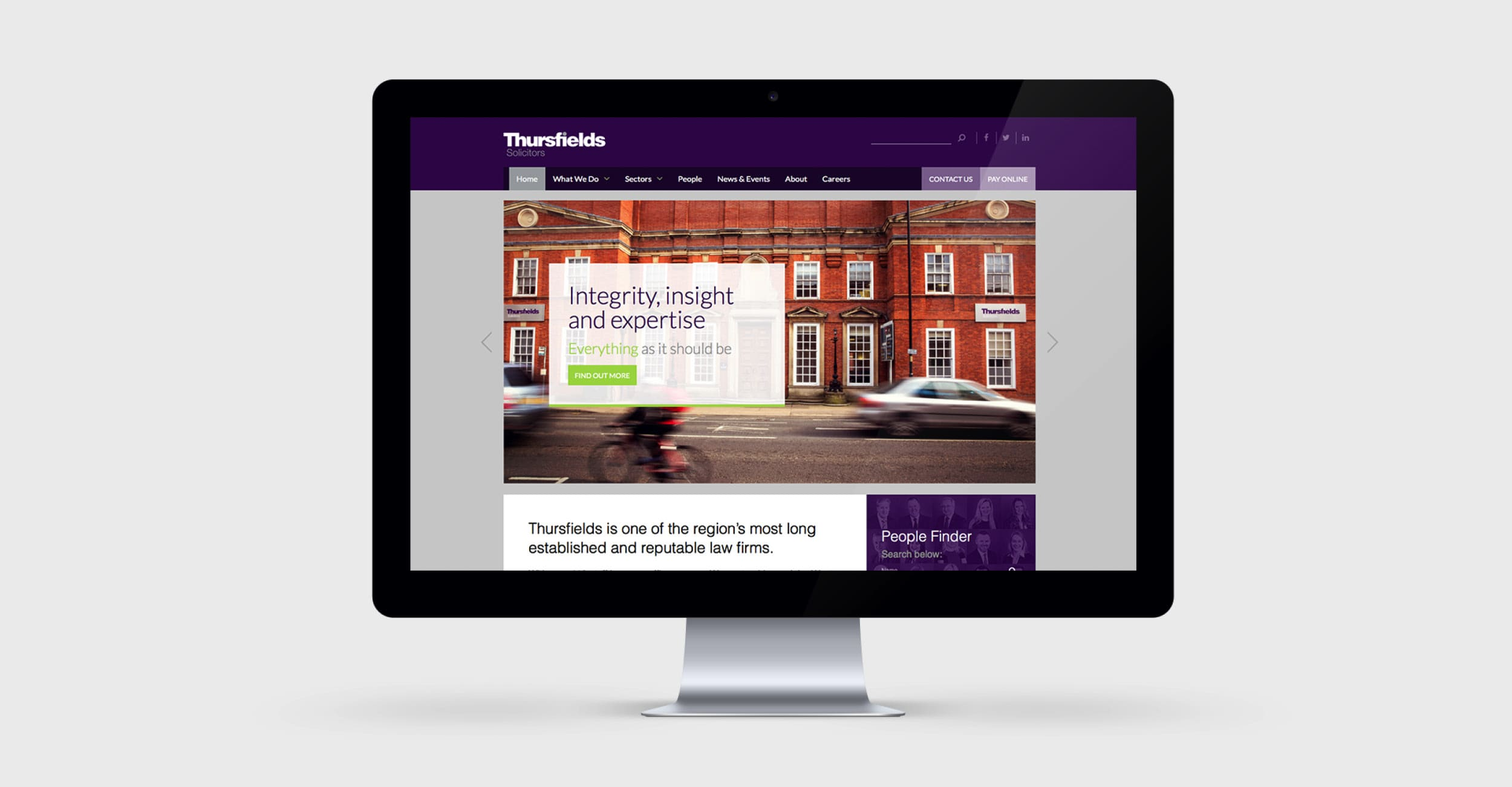 Thursfields Solicitors - Identity Update - Website  - Example 1
