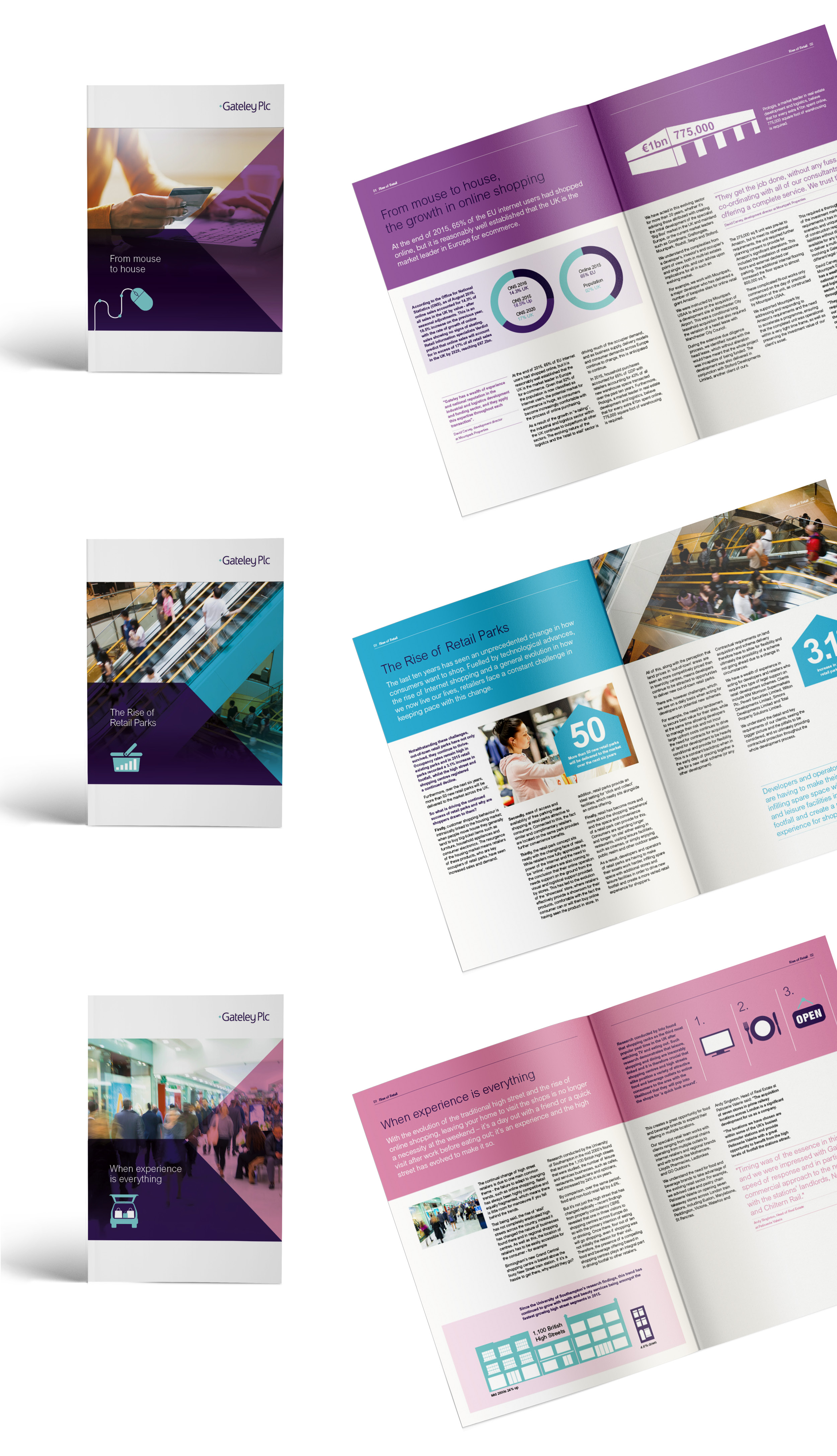 Gateley Plc - Brochure Design Example
