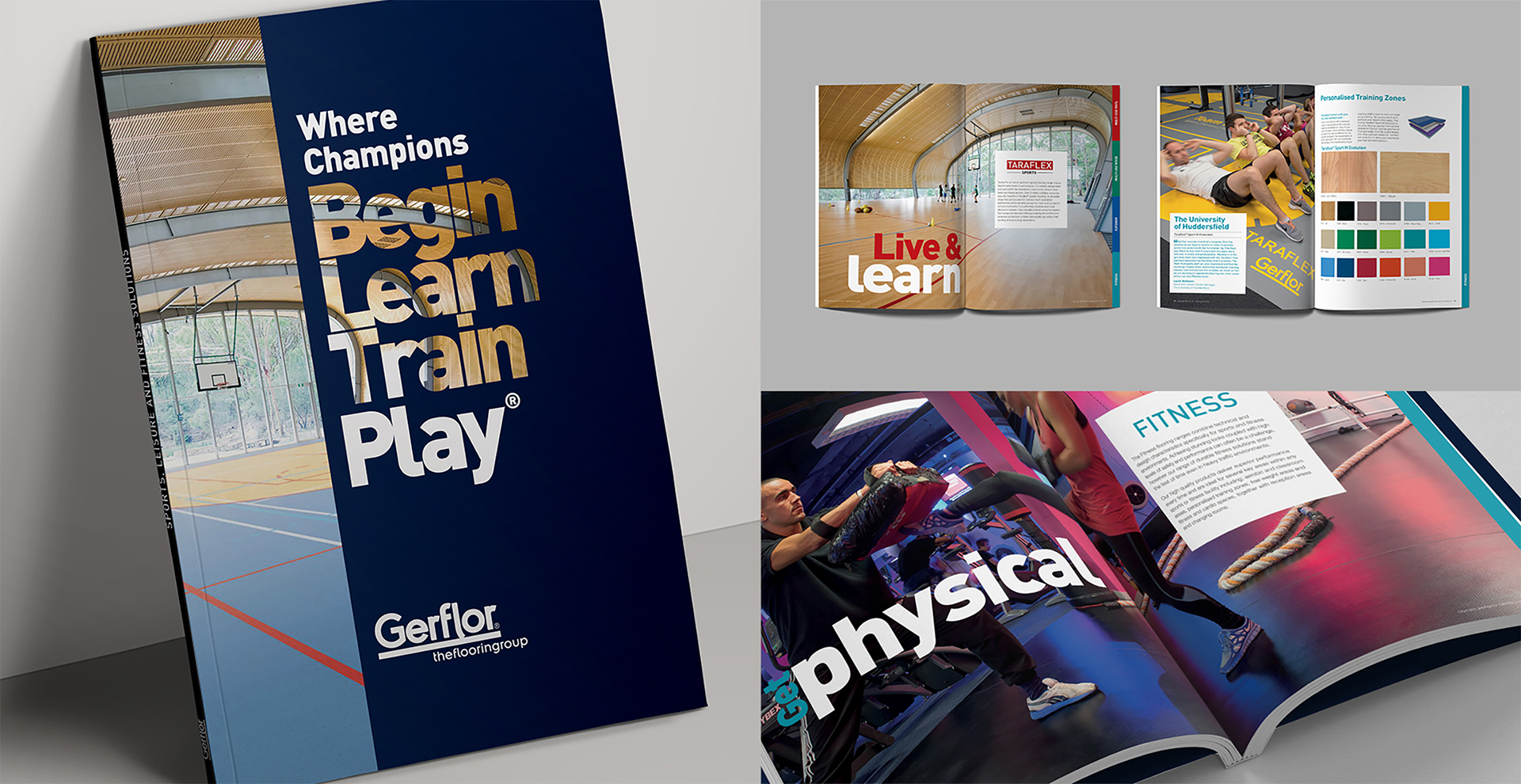 Gerflor - Sports Brochure