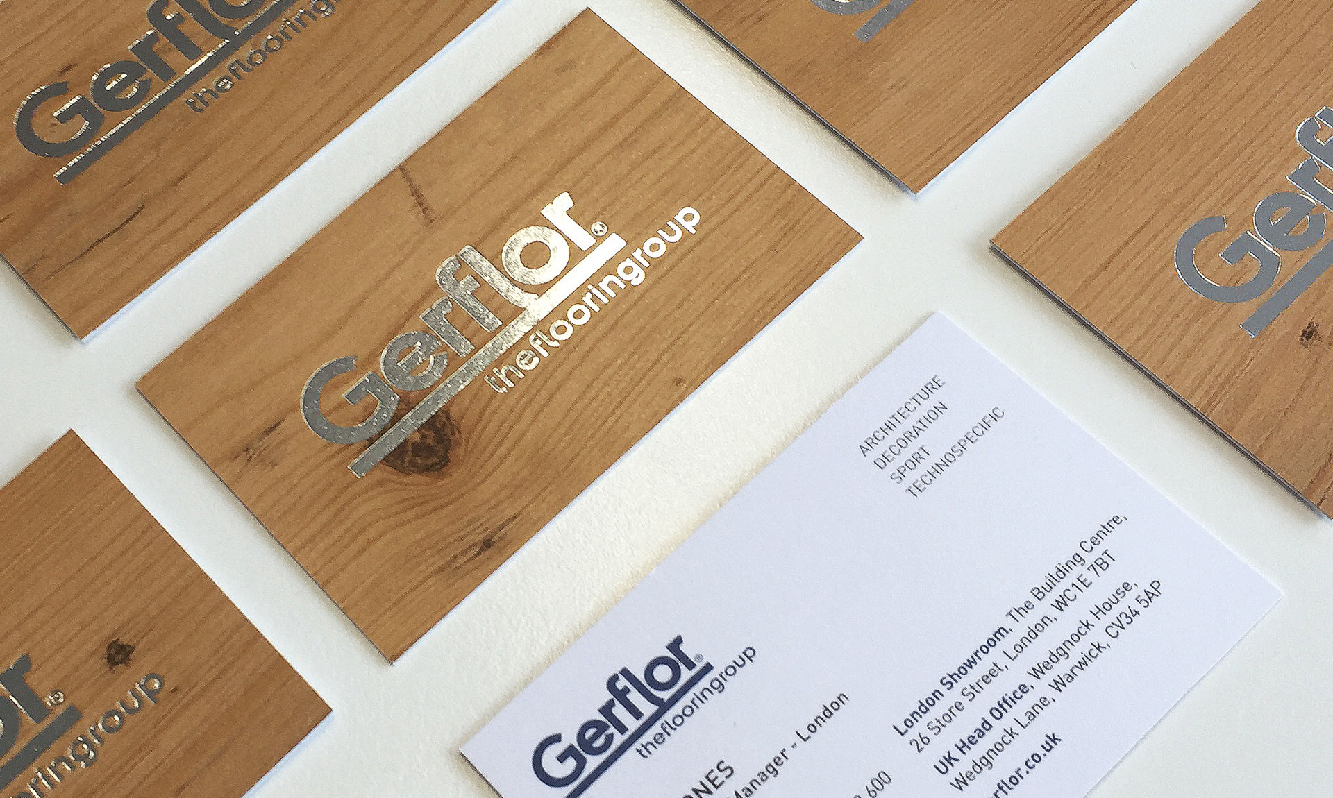Gerflor - Business Card Cover