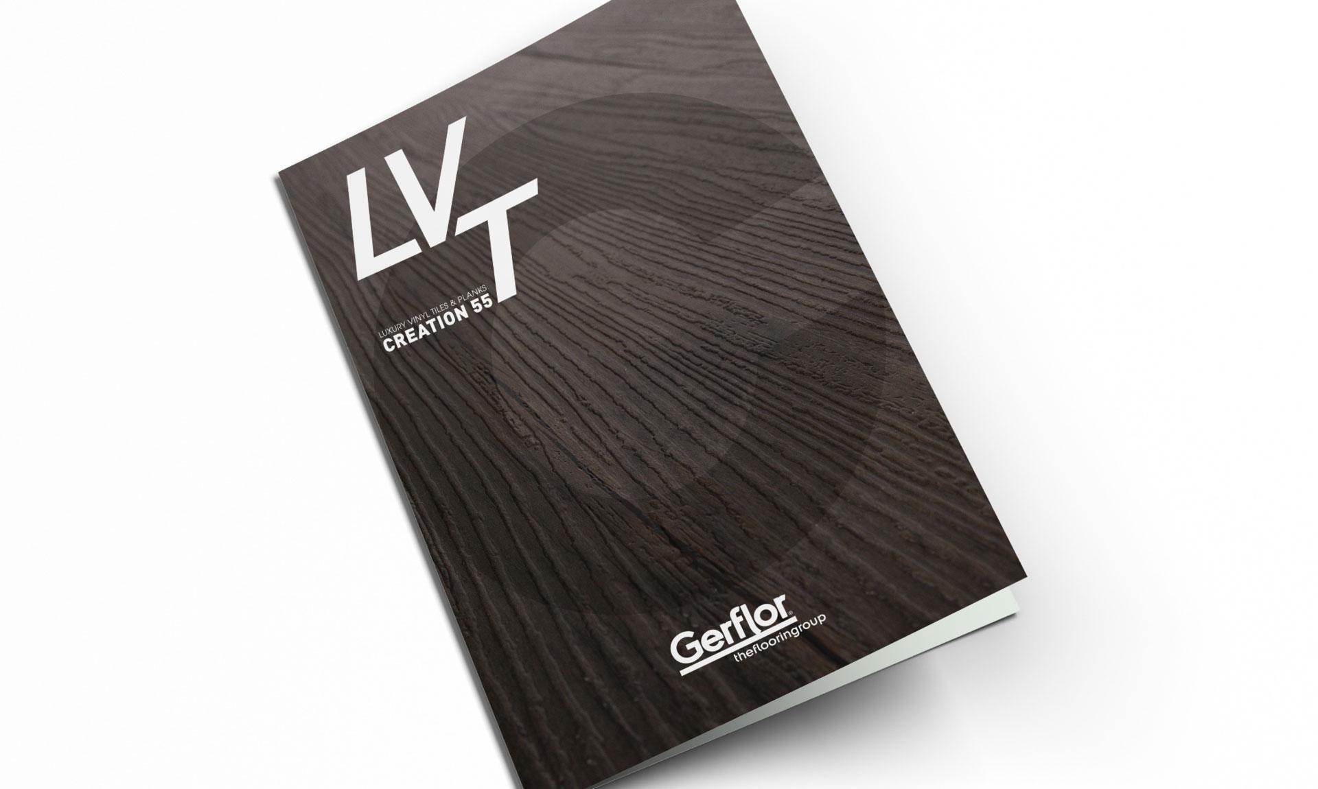 Gerflor - Brochure Design - Cover
