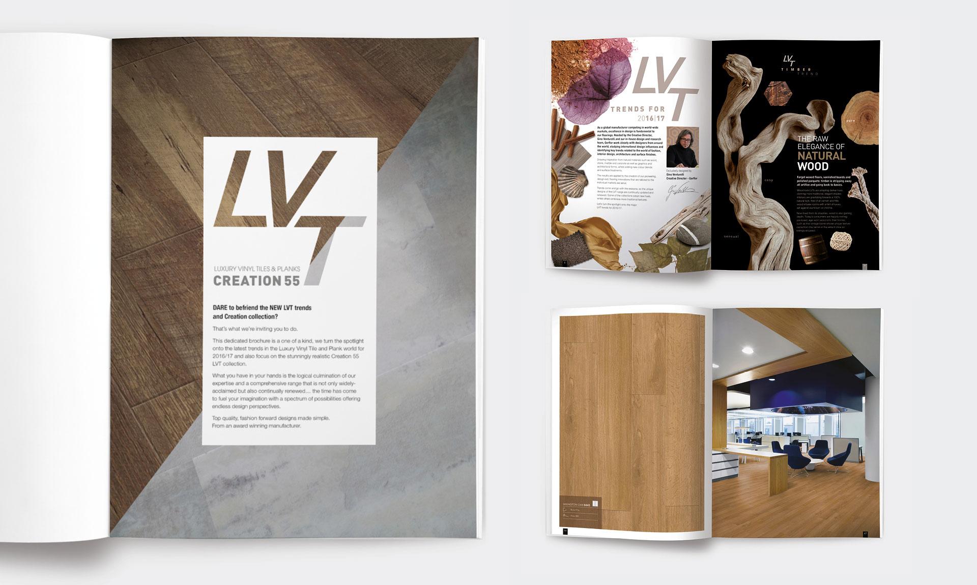 Gerflor - Brochure Design - Layout Example
