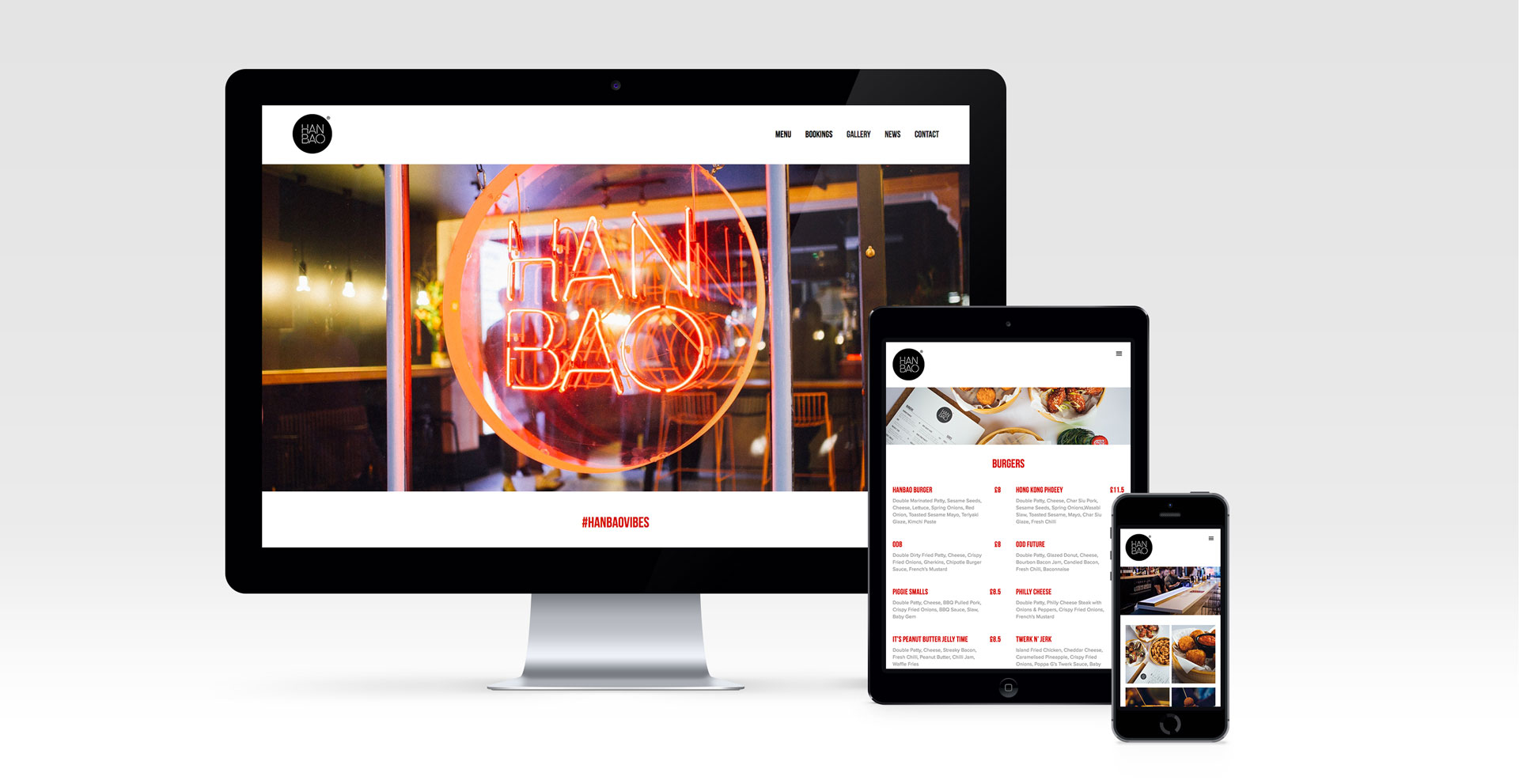 Hanbao Responsive Website