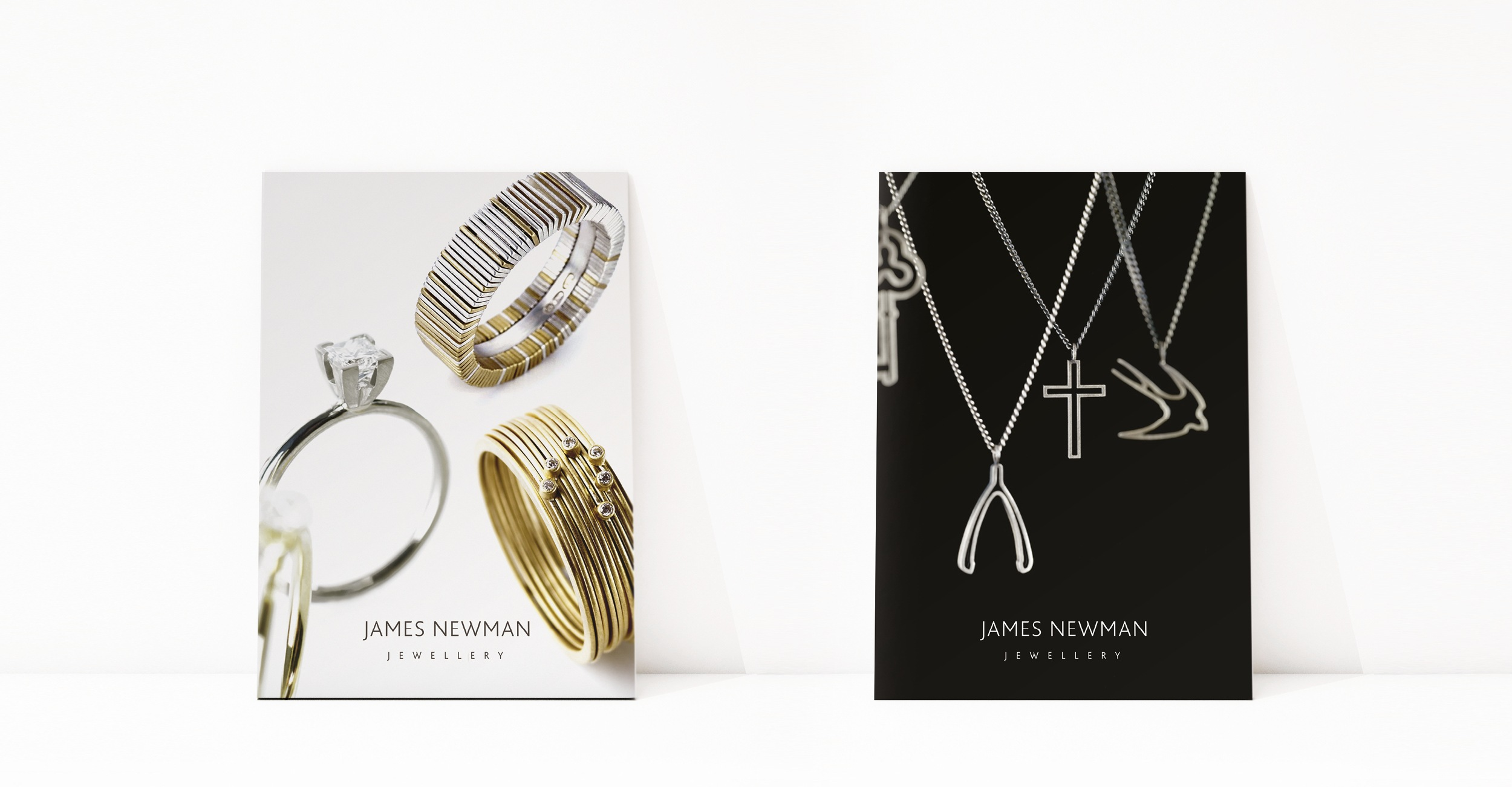 James Newman Jewellery - Advertising / Flyer Design