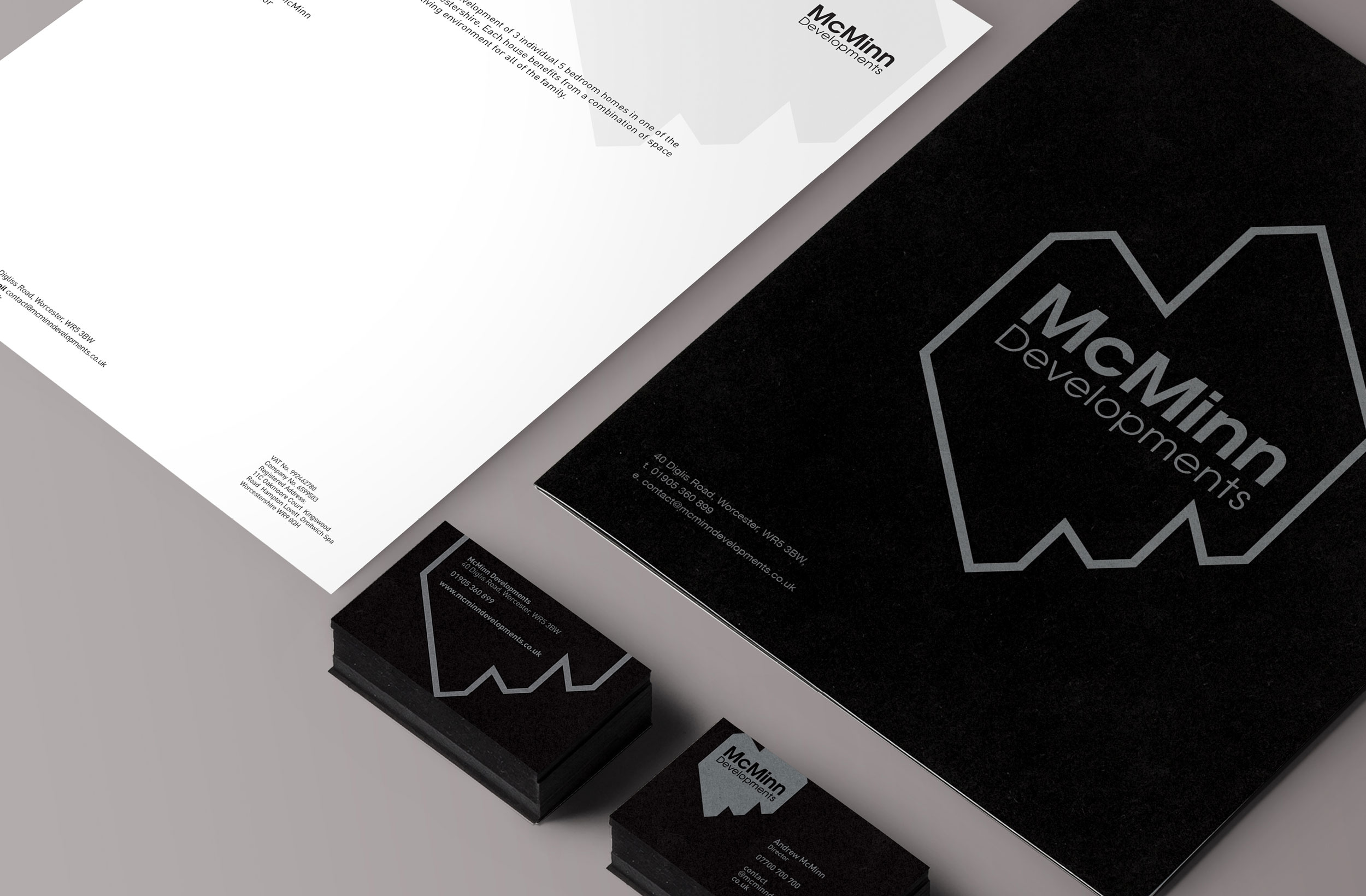 Mcminn Developments Stationary