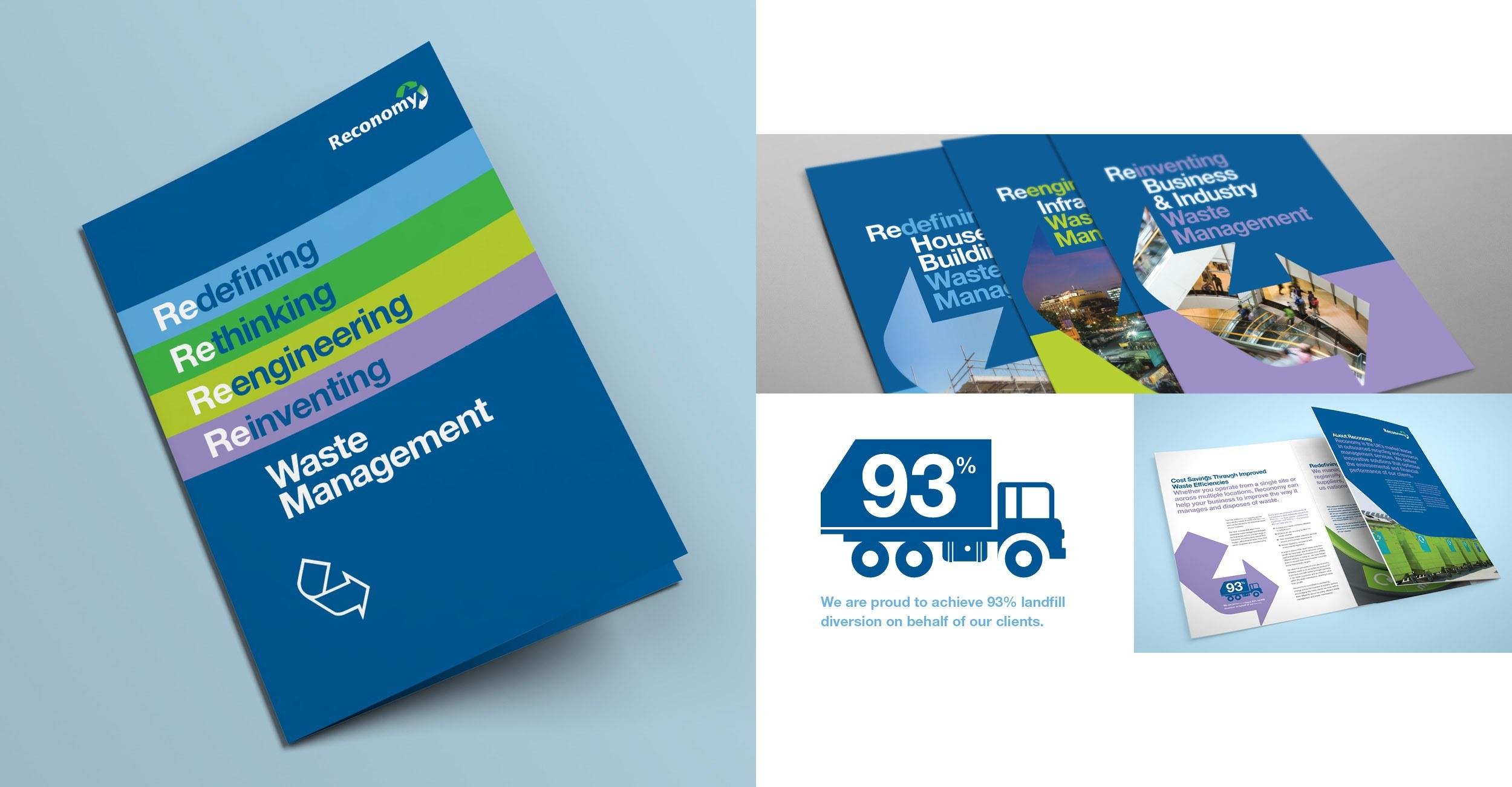 Reconomy - Brochure Design - Examples