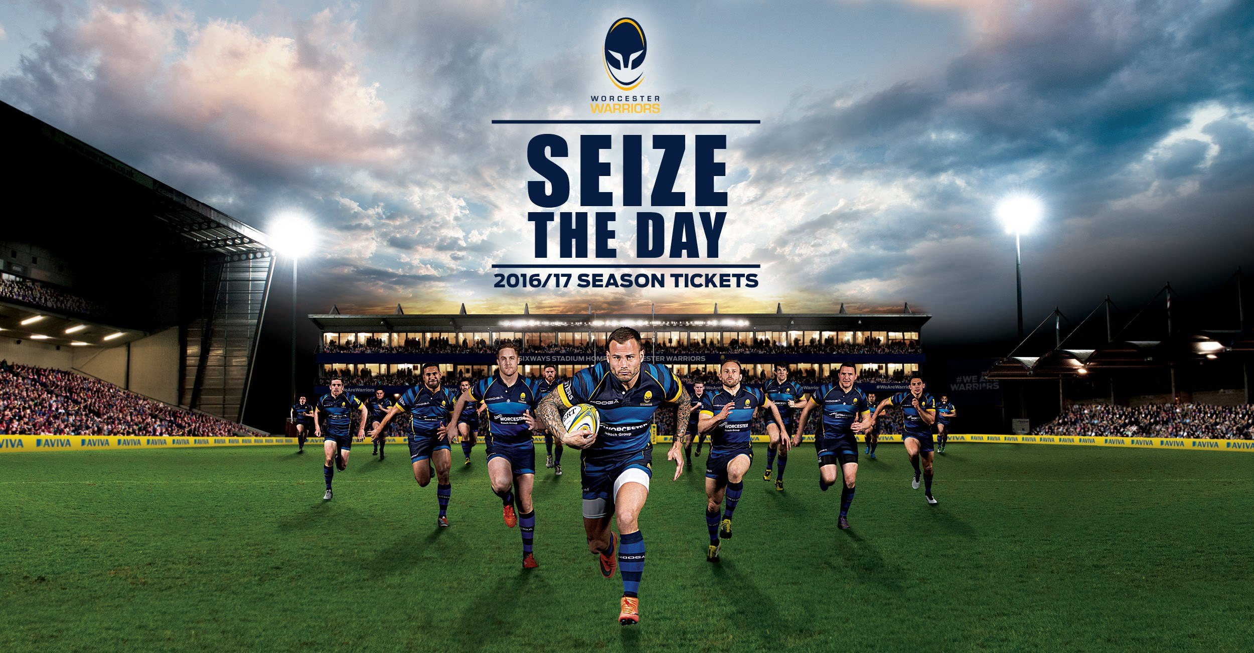 Worcester Warriors Season Tickets 2016/17
