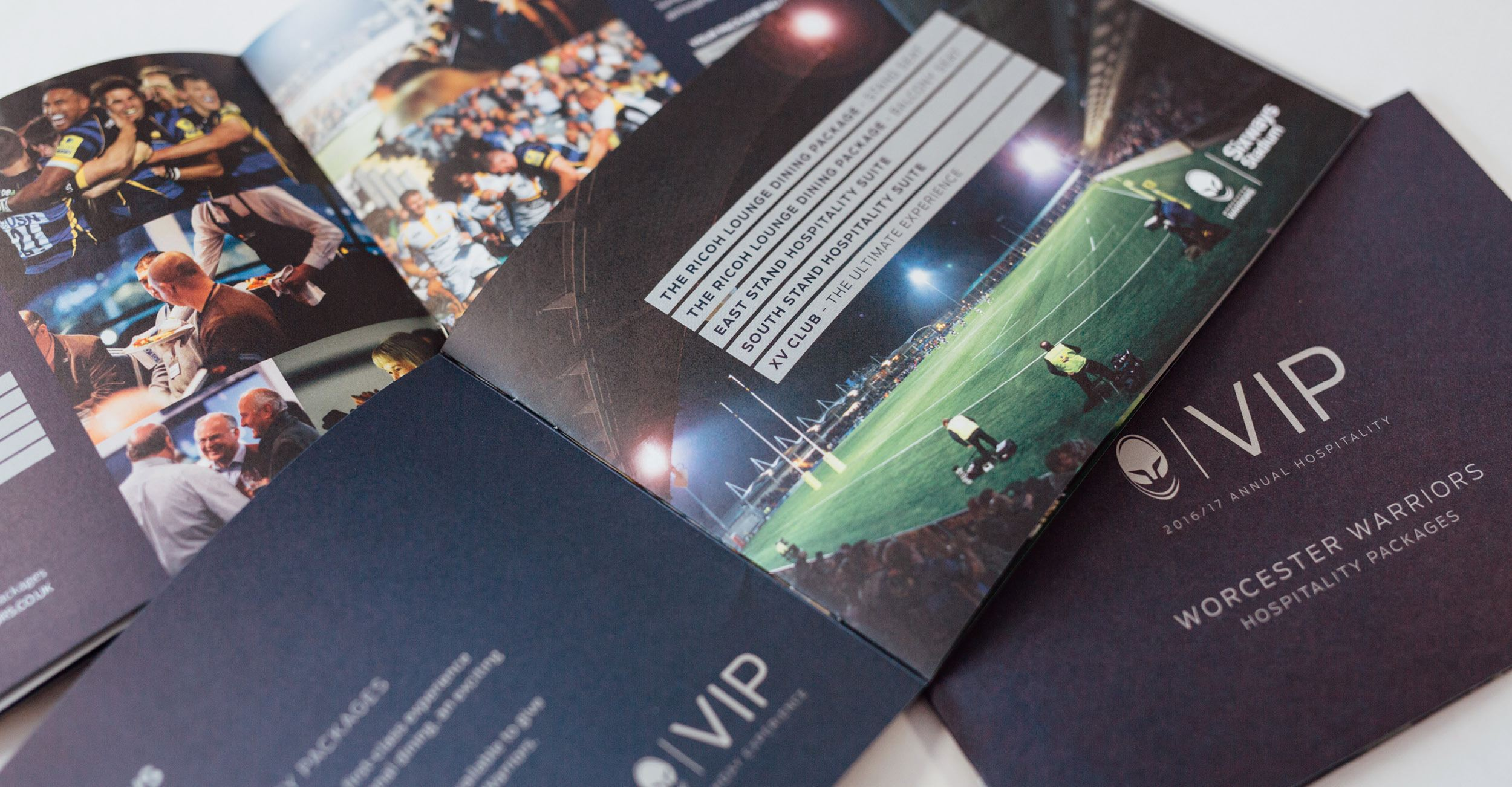 Worcester Warriors VIP Brochure