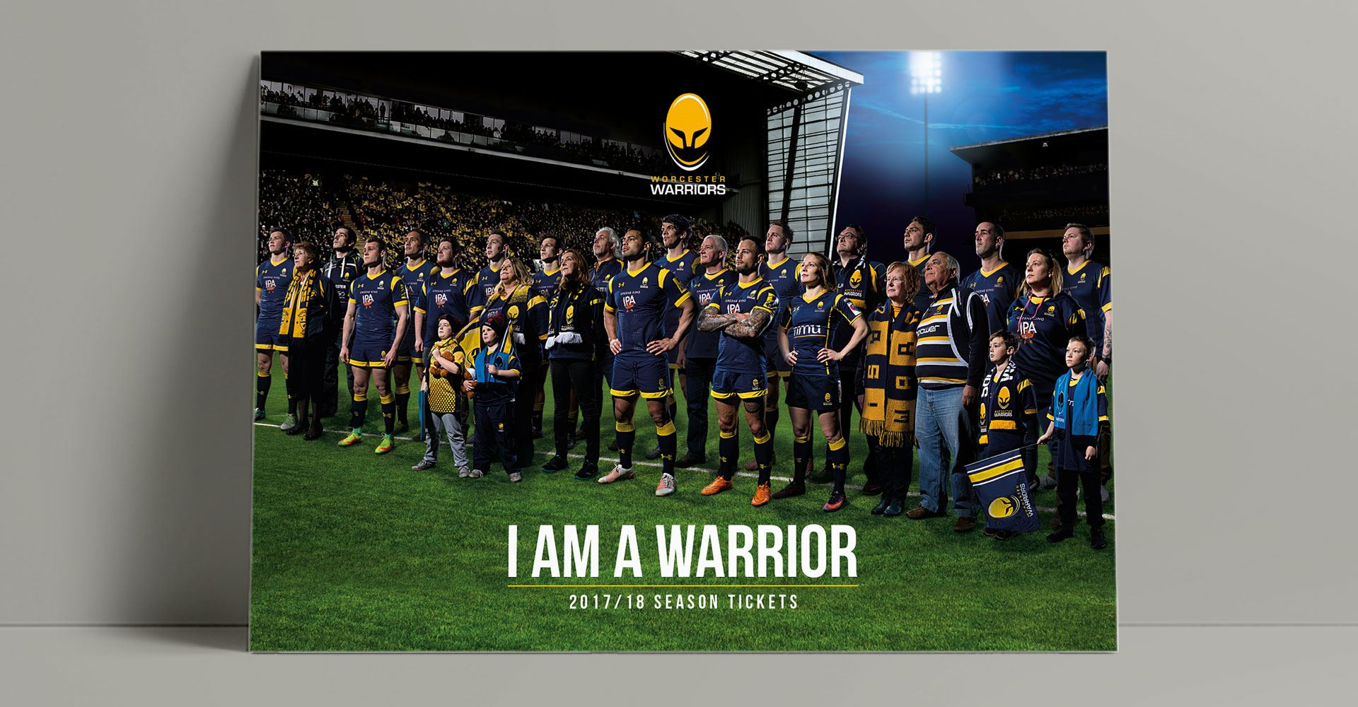 Worcester Warriors Season Tickets 2017/18